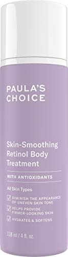 Smoothing Exfoliator Body Skin - Paula's Choice Retinol Skin-Smoothing Body Treatment | Shea Butter, Vitamin C & E Lotion | Anti-Aging Moisturizer | 4 Ounce