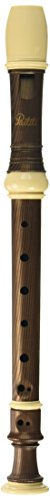 Paititi Soprano Recorder 8-Hole With Cleaning Rod + Carrying Bag, Premium Wooden Pattern, Key of C