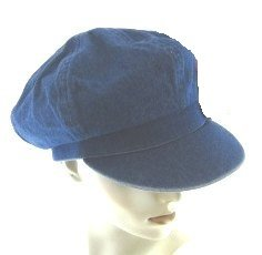 Denim Newsboy Cap at Amazon Women s Clothing store  Newsboy Caps For ... 15069dd2a93