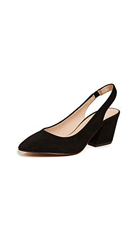 botkier Women's Shayla Slingback Pumps, Black, 6 Medium US