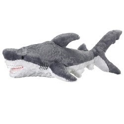 Amazon Com Jumbo Great White Stuffed Shark Giant Huge Large Shark