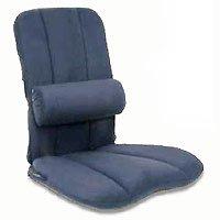 Jobri - BB/L-GR - BetterBack Car Seat Cushion with Adjustable Lumbar Support LumbiPad - Gray -