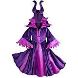 Disney Store Deluxe Maleficent Halloween Costume Descendants Sleeping Beauty (M Medium 7-8) -