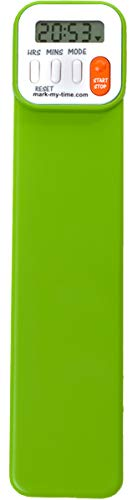 Mark-My-Time Digital Bookmark and Reading Timer - Green