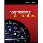 Intermediate Accounting by Stice,Earl K.; Stice,James D.. [2011,18th Edition.] Hardcover