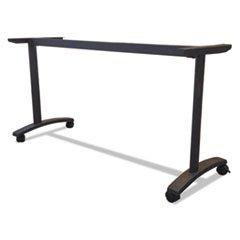 Series Table Base (Alera VA7476BK Valencia Series Training Table T-Leg Base, 58w X 19-3/4d, Black)
