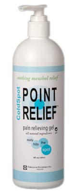 FEI 11-0710-24 Point Relief Cold Spot Topical Analgesic Lotion, Gel Pump Bottle, 16 oz. Volume (Pack of 24)