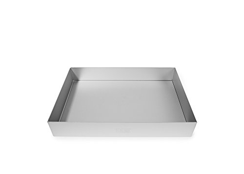 Alan Silverwood 12 x 8 x 2 Traybake Pan Tin Loose base 30022