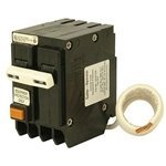 Cutler Hammer br series with ground fault equipment protection 2 Pole Circuit Breaker 20 amp