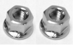 HUB AXLE NUT WM REAR 3/8x26 FLANGED IMP (2 PACK) (Hub Nut)