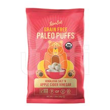 LESSER EVIL, PALEO PUFFS, OG2, APL CDR V, Pack of 9, Size 5 OZ – No Artificial Ingredients Gluten Free Low Sodium Vegan Wheat Free Yeast Free 95%+ Organic Review
