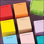 Online Stationery Cube Memos, Personalized Eco-Friendly Stationery