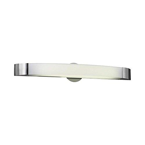 PLC Lighting 3376 SN Delaney Collection 1 Light Vanity, Satin Nickel