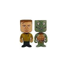 Star Trek's Captain Kirk & Gorn - Nodniks by FunKo