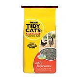Tidy Cats Non-Clumping 24/7 Performance Long Lasting Odor Control for Multiple Cats Cat Litter (Low Cat Track Clumping Litter)