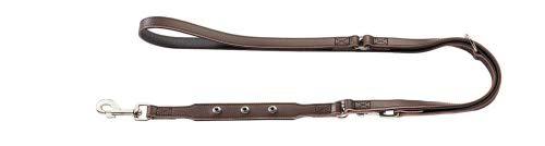 Hunter Walking Lead Leash Adjustable Yuma, 18 200brown, Leather