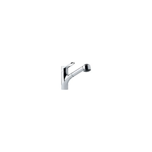 (Franke FFPS200 Single-Handle Pull-Out Spray Kitchen Faucet, Chrome by Franke)