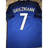 Cleareye #7 Griezmann National Team Home Adult Men's Soccer Jerseys 2016 (L)