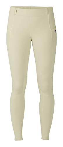 - Kerrits Ice Fil Tech Tight Kneepatch Tan Size: S