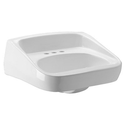 Zurn Z5361 High Back, Standard Arm Lavatory, Single Hole, 20x18