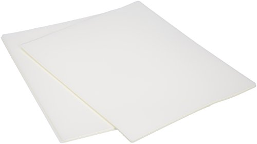 AmazonBasics Thermal Laminating Plastic Laminator Sheets - 8.9 Inch x 11.4 Inch, 50-Pack ()