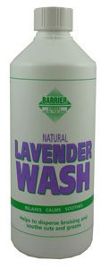 Barrier Unisex Lavender Wash Bottle, White, 500ml