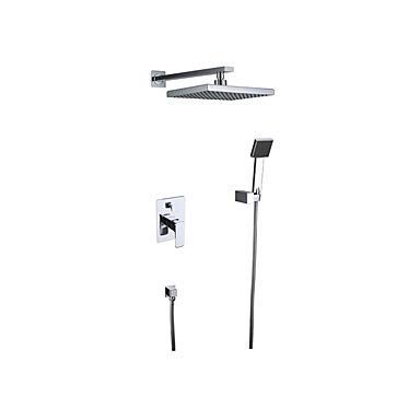 Shower Faucet - Contemporary Chrome Wall Mounted