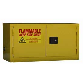 Global Stackable Flammable Cabinet Manual Close Double Door 11 Gal - 34