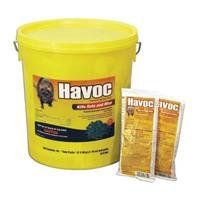 HAVOC RODENTICIDE BAIT PACKS - 50 GRAM/40 PACK by DavesPestDefense