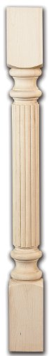 Reeded Wood (Reeded Split Column - Red Oak)