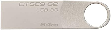 Kingston 64GB DataTraveler SE9 G2 USB 3.0 Flash Drive - DTSE9G2/64GB