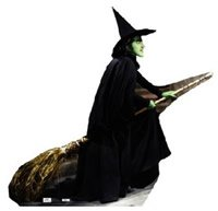 [Wicked Witch Stand Up] (Witch Cutouts)