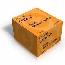 Herida estéril sin Alcohol limpieza toallitas limpia productos de primeros auxilios 100 bolsitas: Amazon.es: Oficina y papelería