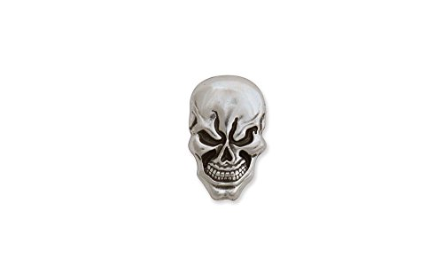 Tandy Leather Skull Concho Screwback 11/16