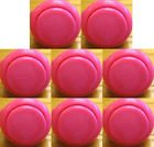 Japan Sanwa 8 Pcs OBSF-30 Pink OEM Arcade Push Button (Mad Catz SF4 Tournament Joystick Compatible)