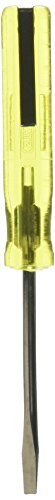 Stanley Tools 100 Plus Slotted Pocket Screwdriver, 1/8in, 4