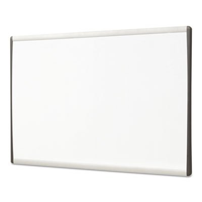 Magnetic Dry-Erase Board, Steel, 11 x 14, White Surface, Silver Aluminum Frame, Sold as 1 Each
