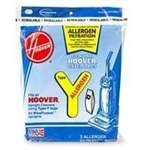 Hoover Type Y Allergen Paper Bag - 3 Pack (Hoover Tempo Widepath)