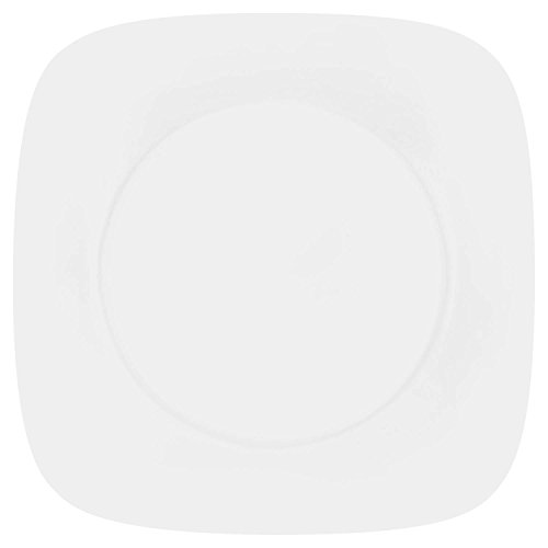 correlle white bread plates - 4