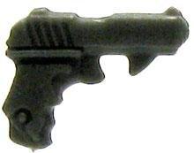 FA2-D5 GI Joe 3 3/4 Inch LOOSE Action Figure Accessory Dark Gray Holdout Pistol [Style 3]