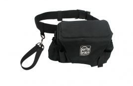 Porta Brace Assis. Cinematographer Pouch with Belt Black ACB-3B by PortaBrace