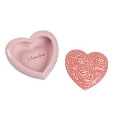Porcelain Heart Keepsake Box - Nao by Lladro Collectible Porcelain Figurine: LOVE HEART - 2