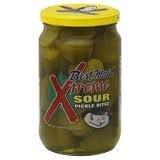 Best Maid Xtreme Sour Pickle Bitez 24oz Jar (Pack of 2)