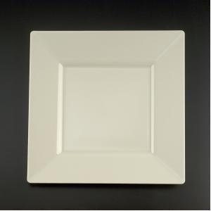 Square Plastic Dinner Plates Bone 9.5 Inch - 10 Count & Amazon.com: Square Plastic Dinner Plates Bone 9.5 Inch - 10 Count ...