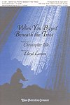 img - for WHEN YOU PRAYED BENEATH THE TREES - Lloyd Larson Christopher Idle - Sheet Music book / textbook / text book