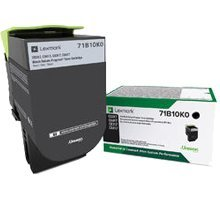 ~Brand New Original LEXMARK 71B10K0 Laser Toner Cartridge Black Original Lexmark Cartridge