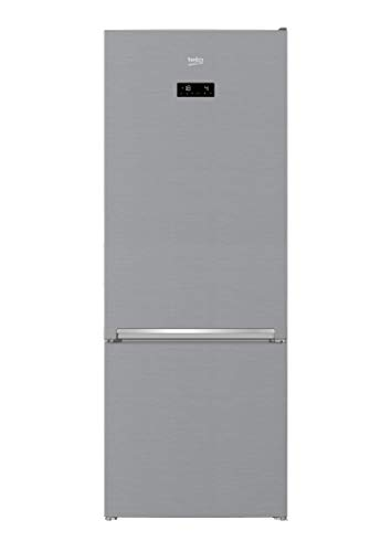 Frigorífico combi – Beko RCNE560E30ZXB, No Frost, 501 L, 192×70 cm, Clase A++, Inox
