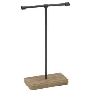 Large Industrial T-Bar Jewelry Stand