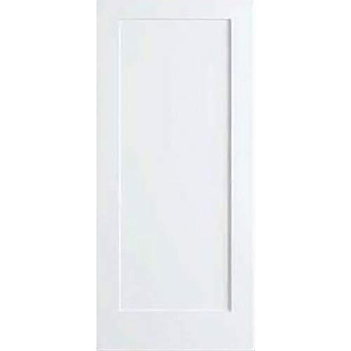 Snavely International 1-Panel Door, White Primed Shaker 80 in. x 1-3/8 in. (80x30)