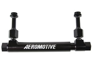Aeromotive 14201 Dual Action Adjustable Fuel Log for Holley